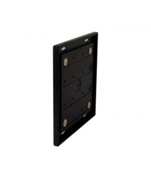"Rowmark Portico Black Sapphire 8"" x 8"" Square Poly Wall Frame"