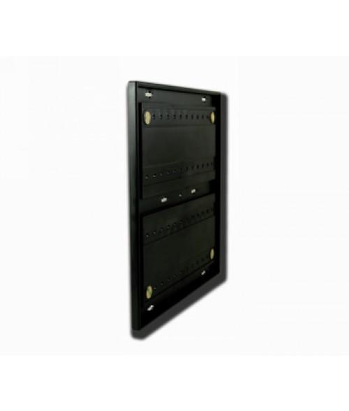 "Rowmark Portico Black Sapphire 12"" x 12"" Square Poly Wall Frame"
