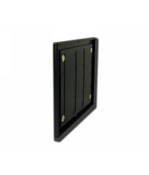 "Rowmark Portico Black Sapphire 8-1/2"" x 11"" Square Poly Wall Frame"