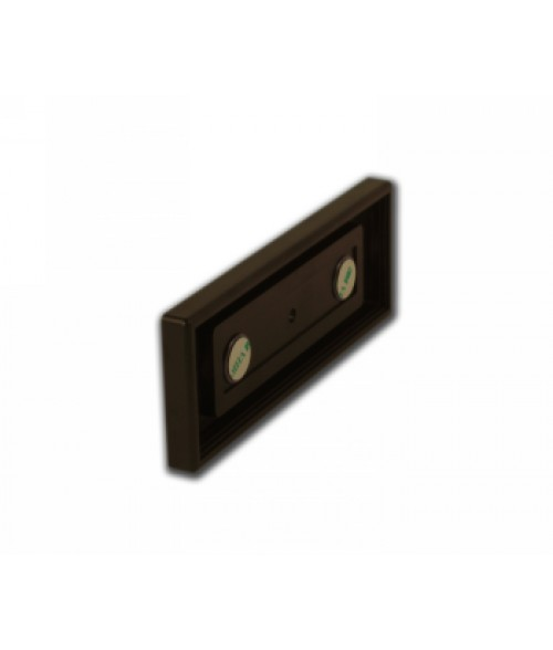 """Rowmark Portico Cocoa 2"""" x 6"""" Square Poly Wall Frame"""
