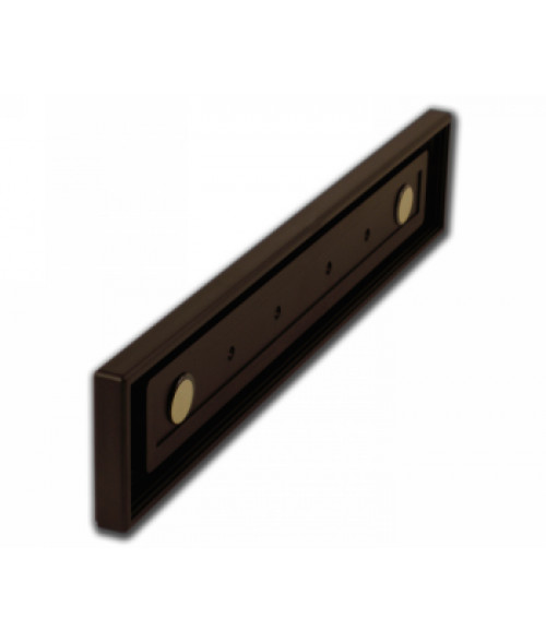 """Rowmark Portico Cocoa 2"""" x 12"""" Square Poly Wall Frame"""
