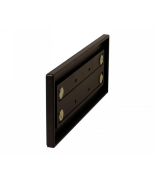 """Rowmark Portico Cocoa 4"""" x 10"""" Square Poly Wall Frame"""