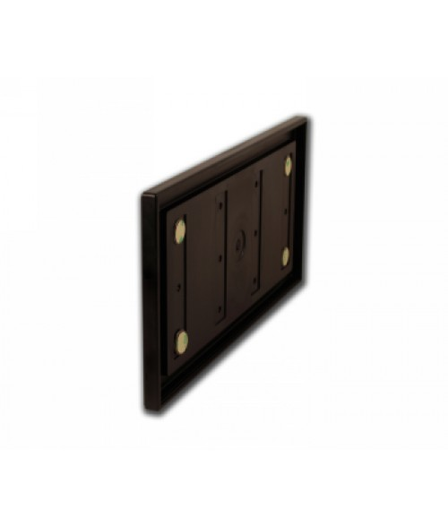 """Rowmark Portico Cocoa 6"""" x 12"""" Square Poly Wall Frame"""