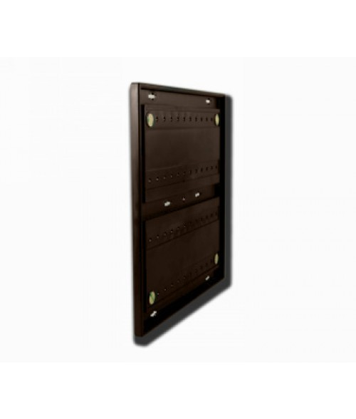 """Rowmark Portico Cocoa 12"""" x 12"""" Square Poly Wall Frame"""