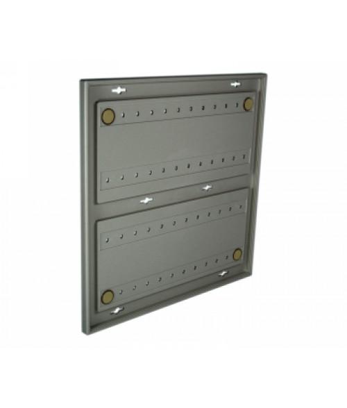 "Rowmark Portico Slate Grey 12"" x 12"" Square Poly Wall Frame"
