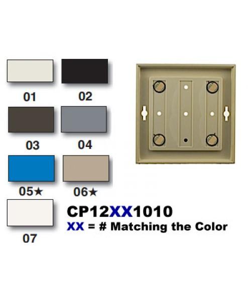 "Rowmark Portico Portabello Taupe 10"" x 10"" Square Poly Wall Frame"