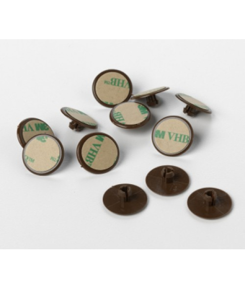 Rowmark Portico Round Snap Locks (12/Pkg)