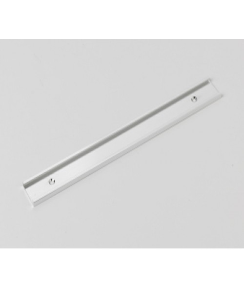 """Rowmark Silver 1"""" x 10"""" Wall Holder for 1/16"""" Thick Material"""