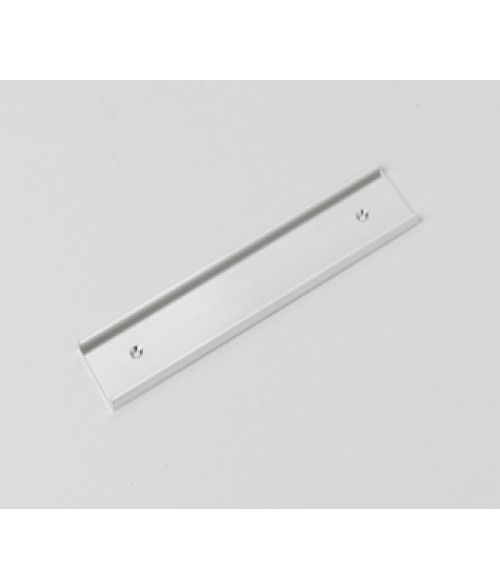"""Rowmark Silver 1-1/2"""" x 8"""" Wall Holder for 1/16"""" Thick Material"""