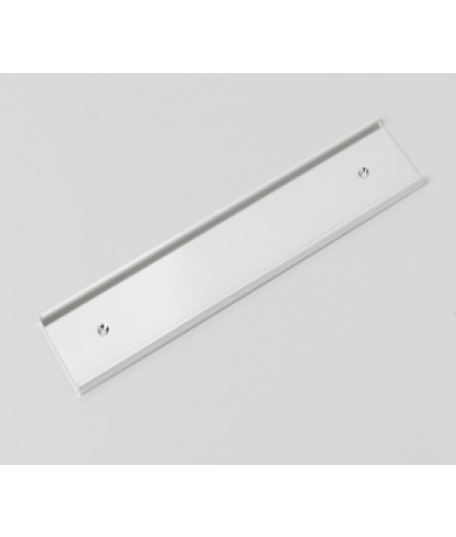 "Rowmark Silver 2"" x 10"" Wall Holder for 1/16"" Thick Material"