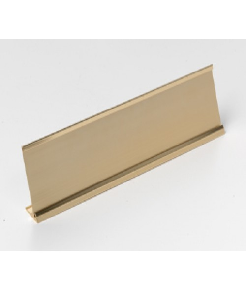"Rowmark Rose Gold 2"" x 10"" Desk Holder for 1/16"" Thick Material"