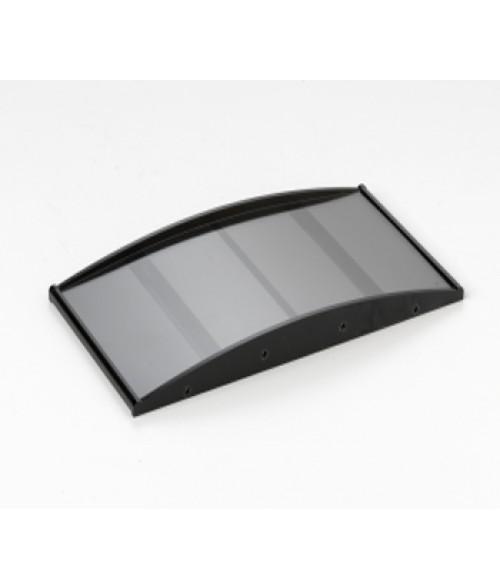 "Rowmark Nouveau Black 4"" x 8"" Curved Frame"