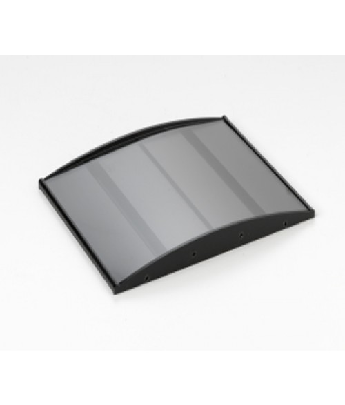 "Rowmark Nouveau Black 6"" x 8"" Curved Frame"