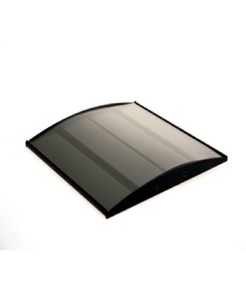 "Rowmark Nouveau Black 8"" x 8"" Curved Frame"