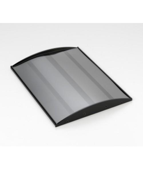 "Rowmark Nouveau Black 8-1/2"" x 11"" Curved Frame"