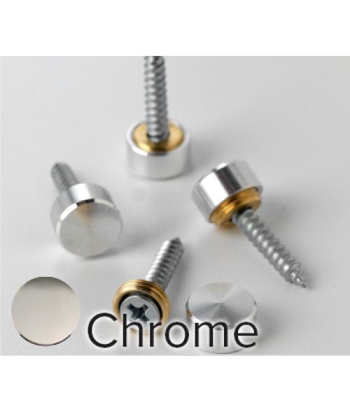 Rowmark Metro Chrome Screw Cap (12/pkg)
