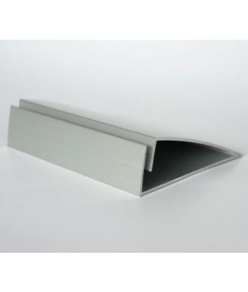 Rowmark Zip Snapin Matte Silver Easel Mount (1/PKG)
