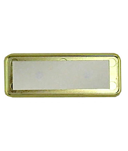 "DCS Gold 1"" x 3"" Badge Holder for .030"" Thick Material"