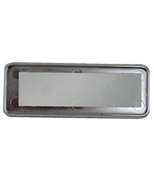 "DCS Silver 1"" x 3"" Badge Holder for .060"" Thick Material"