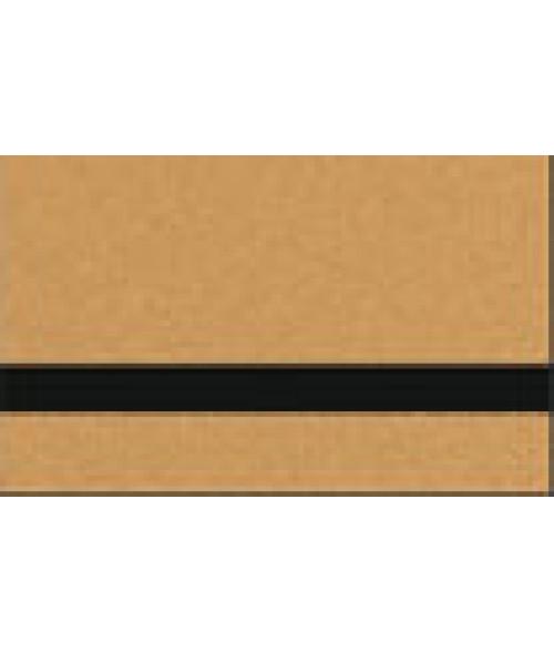 "JP DirectPrint Gloss Gold/Black 1/16"" Plastic for UV-LED Printers"