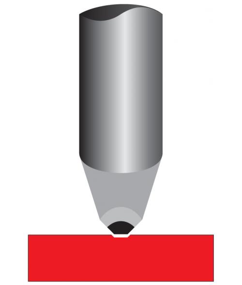 "Antares .003"" Tip 11/64"" x 7"" Carbide Diamond Burnisher for Pens"