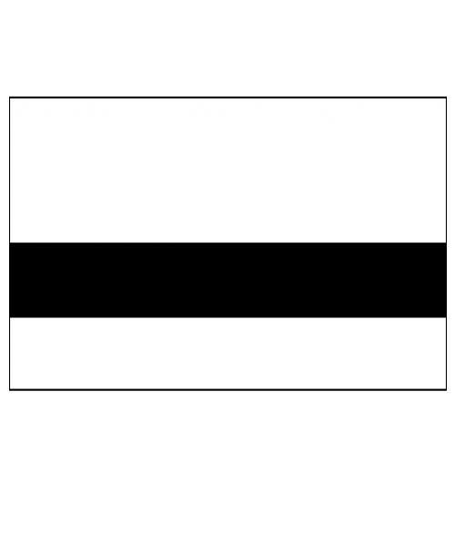 """Rowmark Safe-T-Mark White/Black 1/16"""" Engraving Plastic"""