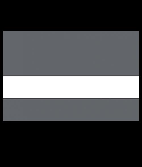 """Rowmark Safe-T-Mark Grey/White 1/16"""" Engraving Plastic"""