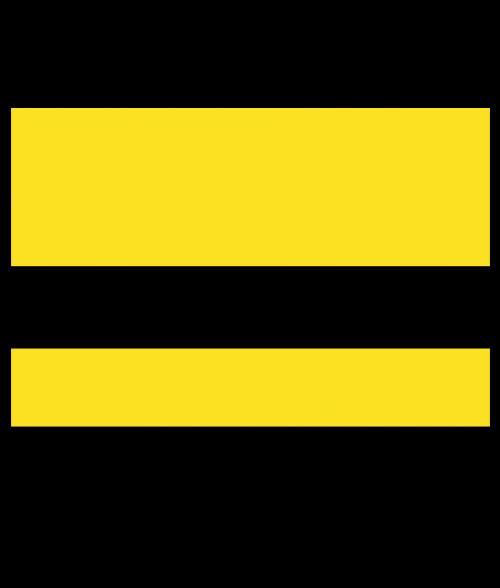 "Rowmark Safe-T-Mark Yellow/Black 1/16"" Engraving Plastic"