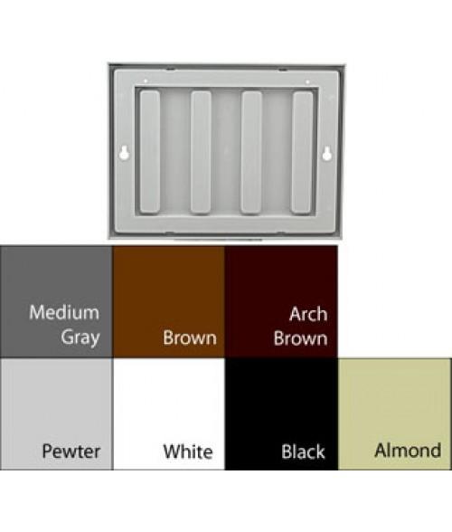 """JRS Designer2 Frames Black 6"""" x 8"""" Plastic Frame"""