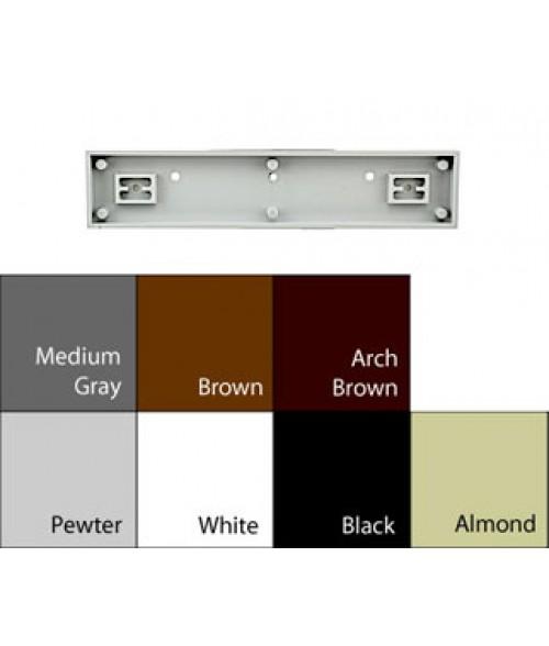 "JRS Architectural Frames Black 1-3/4"" x 9-1/8"" Square Plastic Frame"
