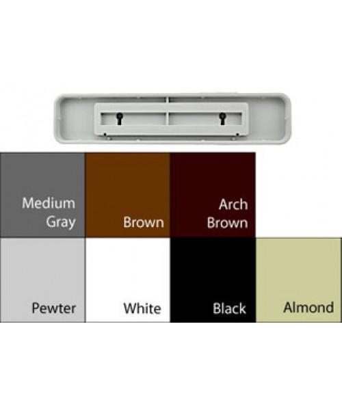 "JRS Designer Frames Medium Grey 2"" x 10"" Round Plastic Frame"
