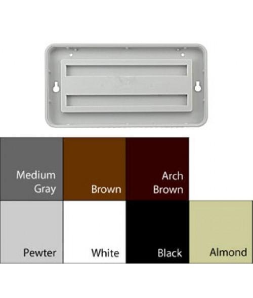"""JRS Designer Frames Pewter Grey 4"""" x 8"""" Round Plastic Frame"""