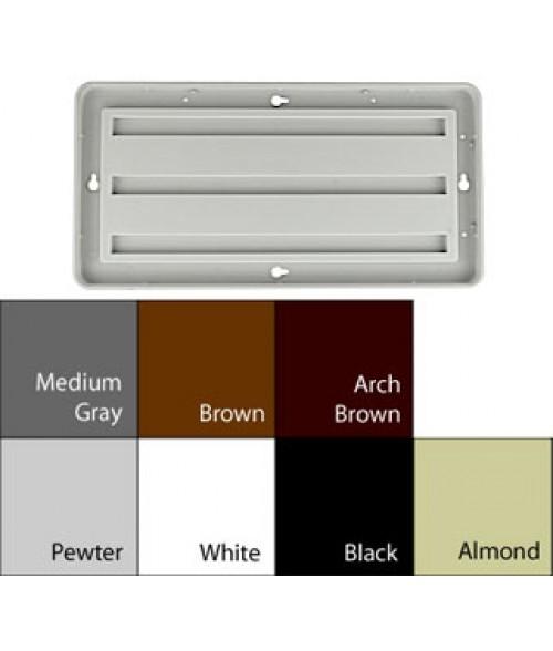 """JRS Designer Frames Pewter Grey 6"""" x 12"""" Round Plastic Frame"""