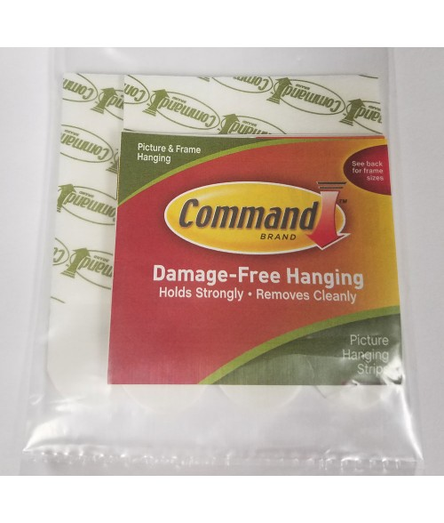 3M Command White Hanging Strips (Medium)