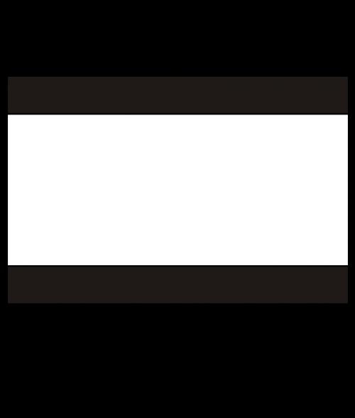 "Rowmark Heavy Weights Black/White/Black 1/2"" Engraving Plastic"