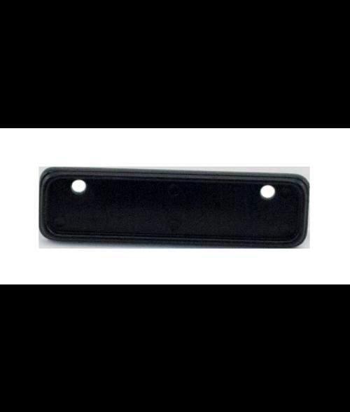 """Black Badge Frame for 25/32"""" x 2-27/32"""" x 1/16"""" Insert"""