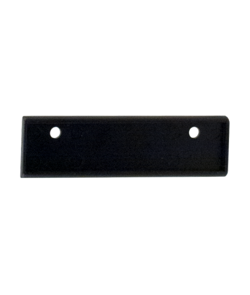 "Black Square Badge Frame for 19/32"" x 2-9/16"" x 1/16"" Insert"
