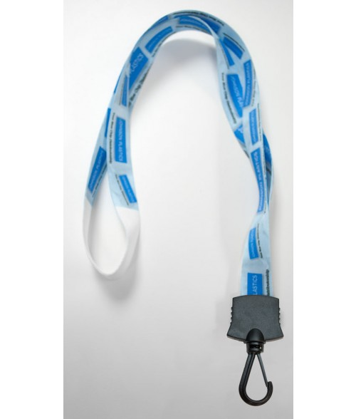 Premium Sublimatable Lanyard with Black Snap Hook