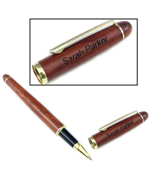 Rosewood Rollerball Pen