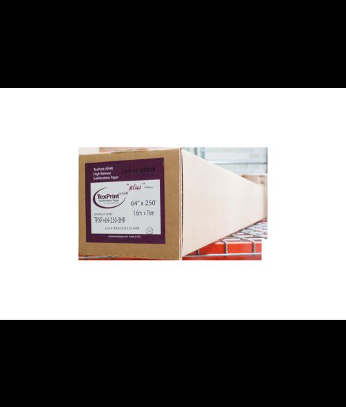 """TexPrint XP Plus 64"""" x 250' Sublimation Paper Roll"""