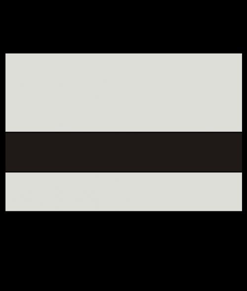 "Rowmark LaserMax Light Grey/Black 1/16"" Engraving Plastic"