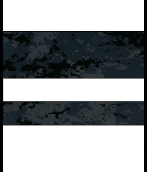"Rowmark LaserMax Digicam Special Ops/White 1/16"" Engraving Plastic"