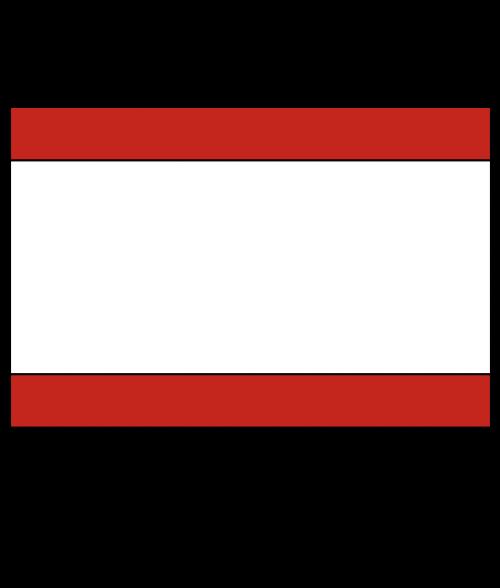 "Rowmark LaserMax Crimson/White/Crimson 1/8"" Engraving Plastic"