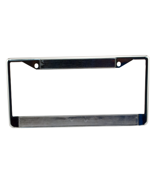 Chrome Metal License Plate Frame