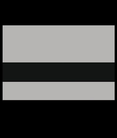"IPI .005 Advantage Interior Brushed Satin Silver Grey/Black 1/16"" Engraving Plastic"