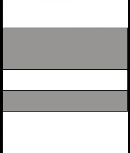 "IPI Laserables II Grey Flannel/White 1/16"" Engraving Plastic"