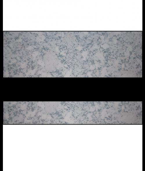 "IPI Laserables Matte Platinum Marble/Black 1/16"" Engraving Plastic"