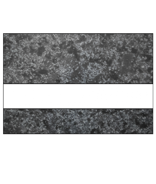 "IPI Laserables Gloss Deep Charcoal Marble/White 1/16"" Engraving Plastic"
