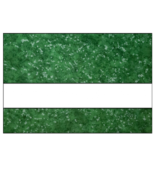 "IPI Laserables Gloss Verde Green Marble/White 1/16"" Engraving Plastic"