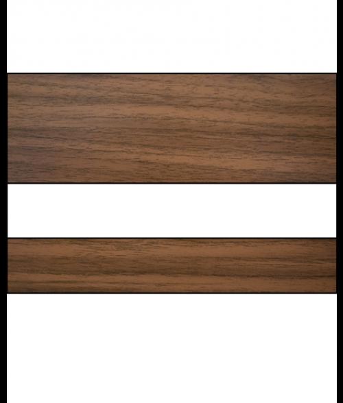 """IPI Laserables Matte Light Walnut/White 1/16"""" Engraving Plastic"""